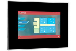 Loytec LVIS touchpanels